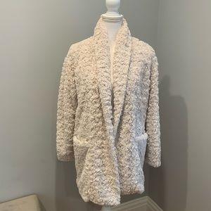 Aritzia Wilfred Free Plush Jacket